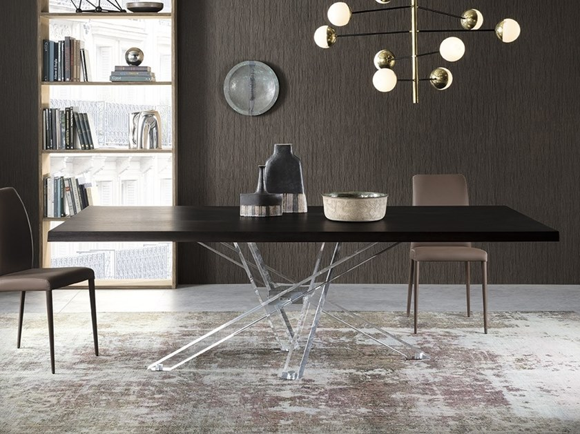 Rectangular dining table SHANGAI LIMITED EDITION | Rectangular table by RIFLESSI