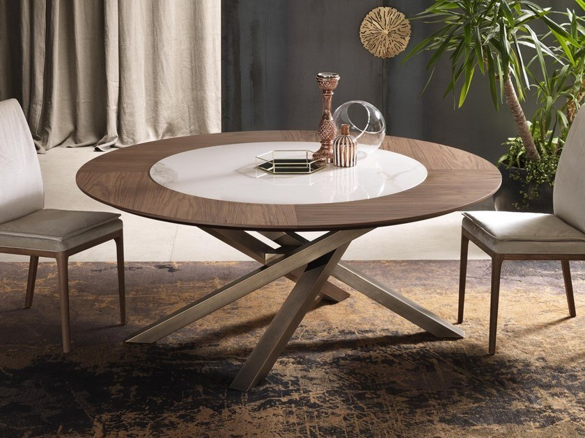 Round table SHANGAI | Round table by RIFLESSI