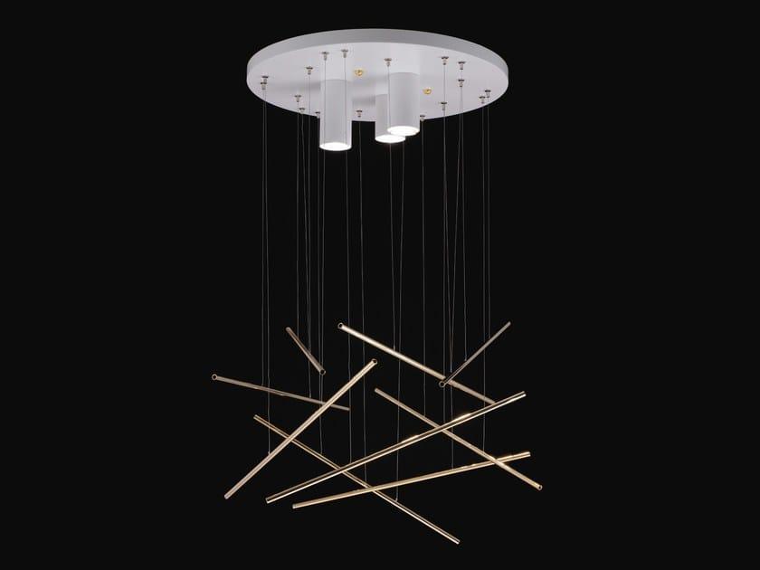 LED metal pendant lamp SHANGHAI | Pendant lamp by NOIDESIGN