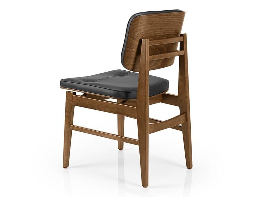 Cadeira de pele SHANNA M1054WUUCR by JMS