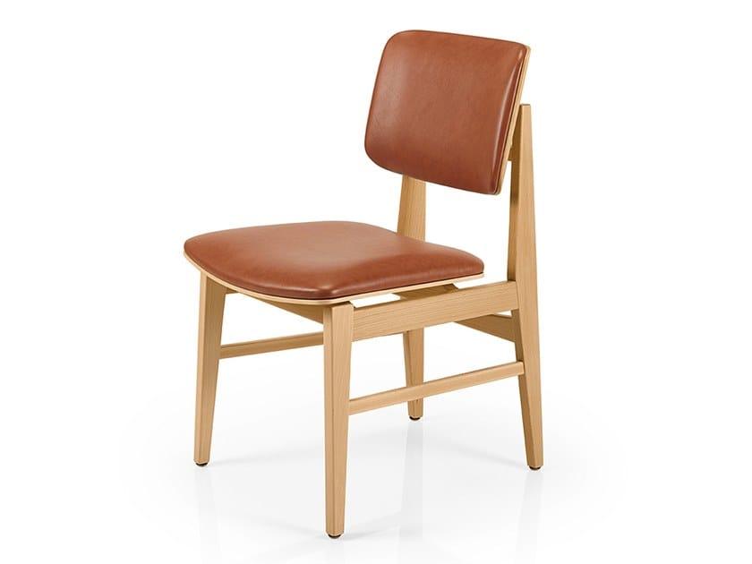 Cadeira de pele SHANNA M1054WUUST by JMS