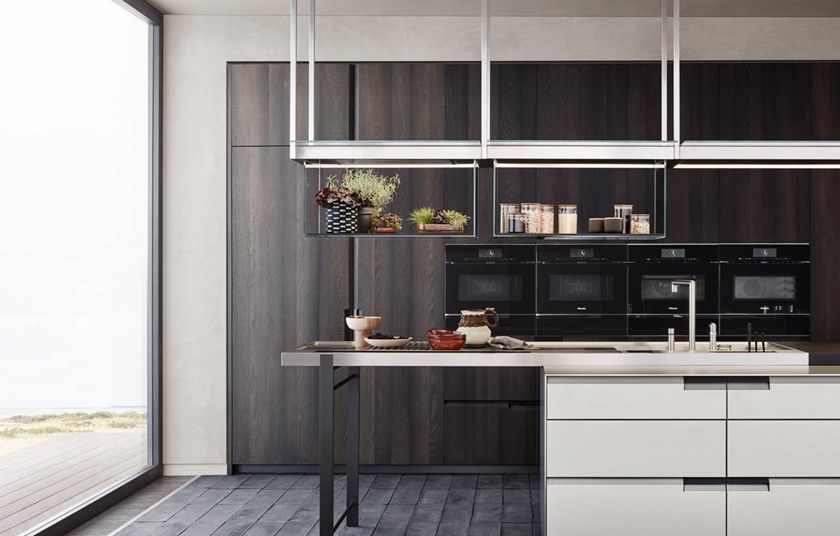 Cucina Componibile Con Maniglie Integrate Shape Poliform