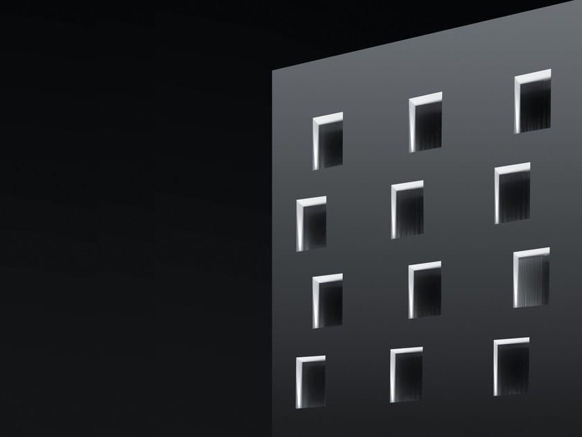 LED aluminium wall lamp SHAPE by SIMES