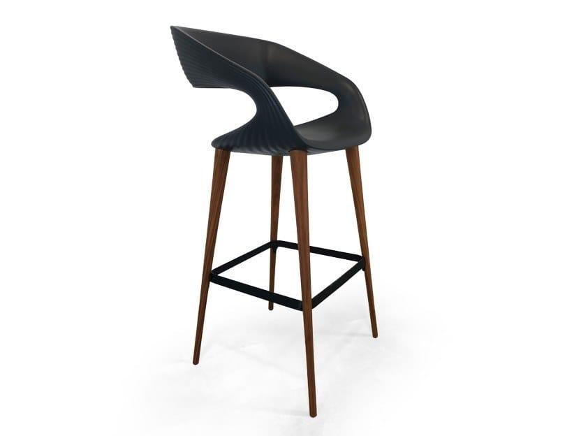 Shape sgabello by oliver b design fabio di bartolomei