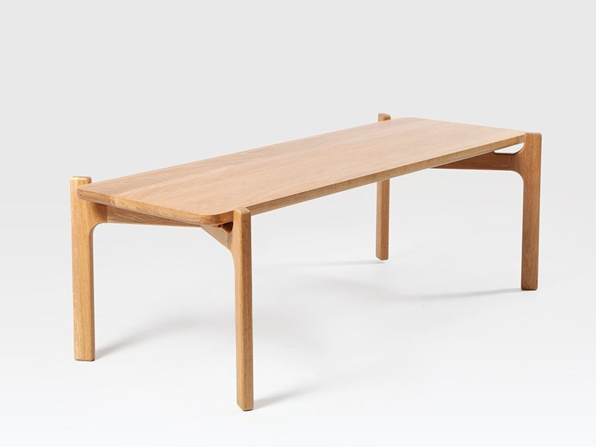 Rectangular oak coffee table SHAW | Coffee table by Liqui Contracts