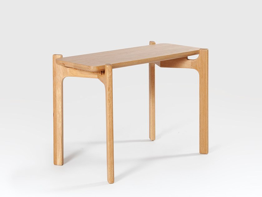 Rectangular oak side table SHAW | Side table by Liqui Contracts