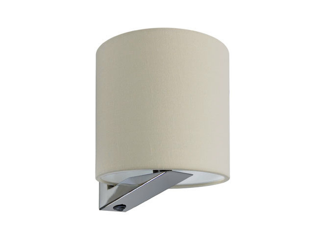 Canvas wall light with fixed arm SHEILA by Quicklighting