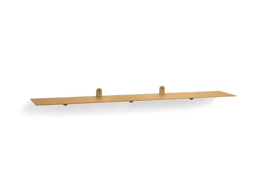 Powder coated steel wall shelf Shelf n°3 by valerie_objects