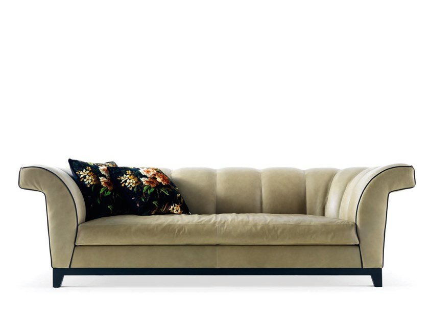 Leather sofa SHELL - 720103 | Sofa by Grilli