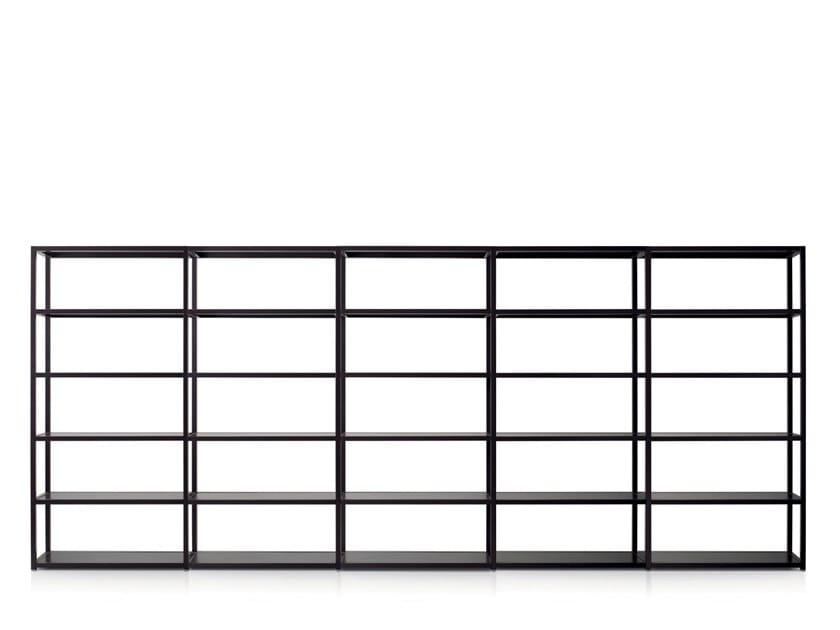 Modular metal office shelving SHELVE | Modular office shelving by Quinti Sedute