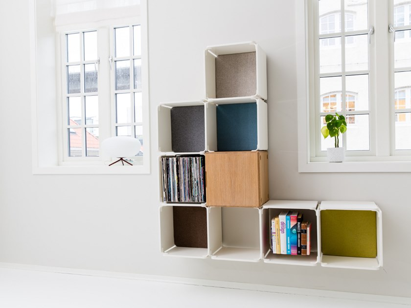 Open wall cabinet SHELVE/SIDEBOARD COMBINATION by Ope