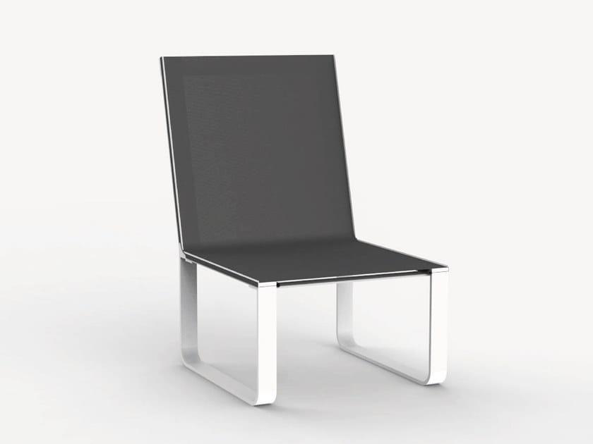 Sled base garden chair SHERIFF II by Ciela Mare