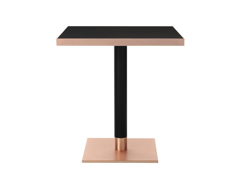 Square contract table SHERRY by Wiener GTV Design