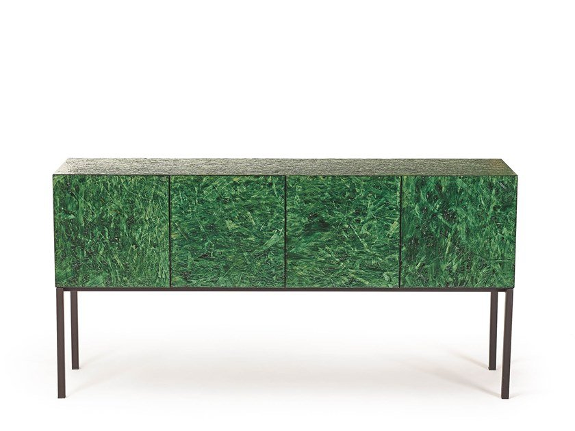 Credenza in OSB con ante a battente SHERWOOD | Madia by ARKOF LABODESIGN