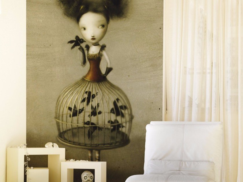 Motif Wallpaper Sheryl By Inkiostro Bianco Design Nicoletta
