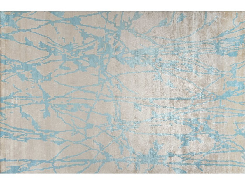 Handmade rug SHETLAND BELIZE by EDITION BOUGAINVILLE