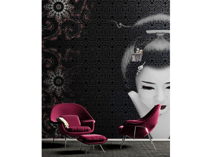 Vinyl wallpaper SHIBUYA by Baboon