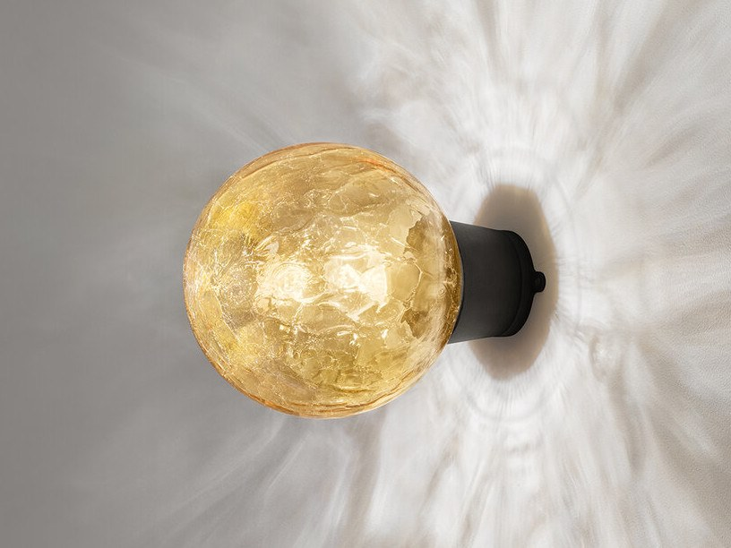 Glass and aluminium wall light SHIBUYA | Wall light by Zero