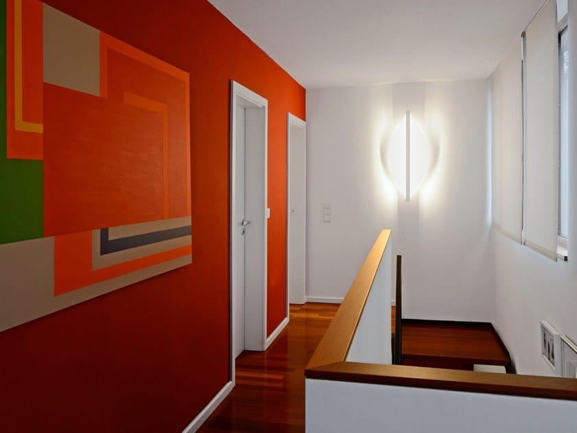 Applique a LED in vetro acrilico SHIELD OVAL | Applique by millelumen
