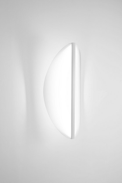 Millelumen In Acrilico Shield Led Vetro A OvalApplique EIY9eWDH2