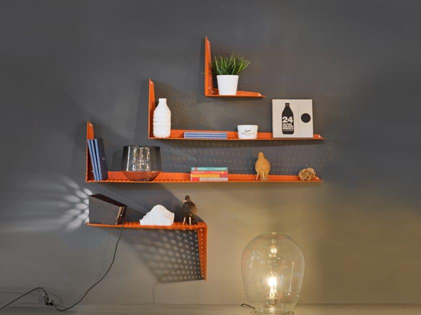 Aluminium wall shelf SHIFT L by INPPUT