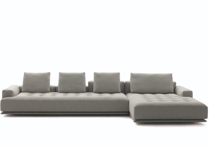 Sectional fabric sofa SHIKI | Sectional sofa by Zanotta