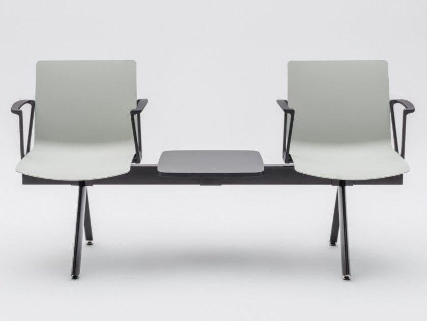 Freestanding plastic beam seating SHILA | Beam seating by MDD