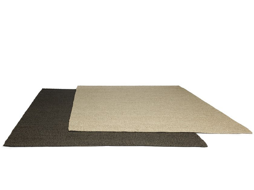 Solid-color polyester outdoor rugs SHINDI by TRIBÙ