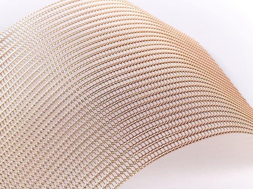 Bronze Metal fabric and mesh SHINE BRONZE by MeshArt™