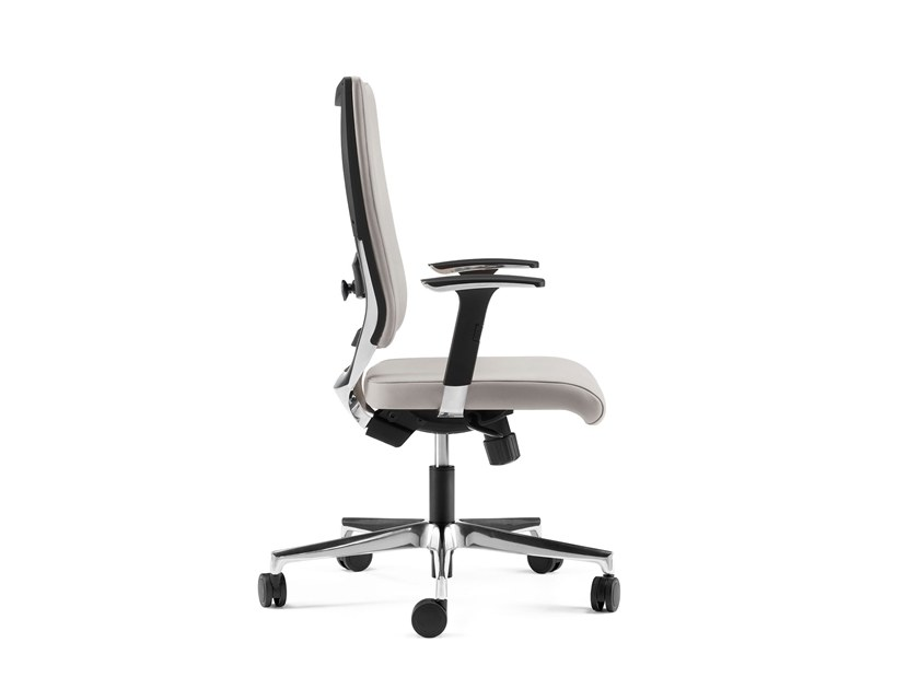 Swivel executive chair with 5-spoke base with armrests SHINE | Executive chair by Arte & D