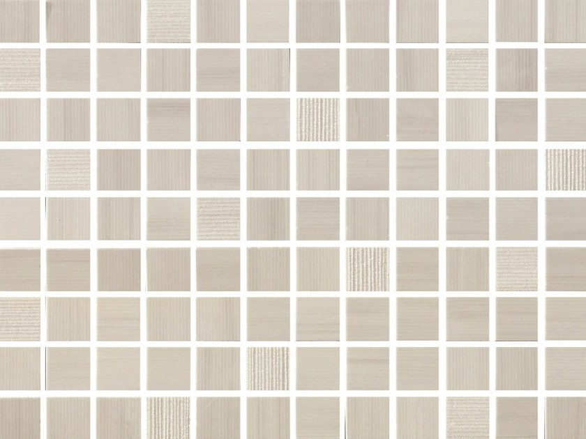 White-paste mosaic SHINE Opale by Impronta Ceramiche