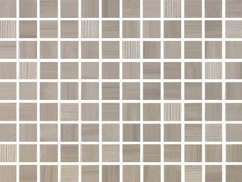 White-paste mosaic SHINE Tormalina by Impronta Ceramiche