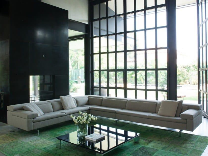 SHIVA | Fabric sofa Shiva Collection By JORI design Jean-Pierre Audebert