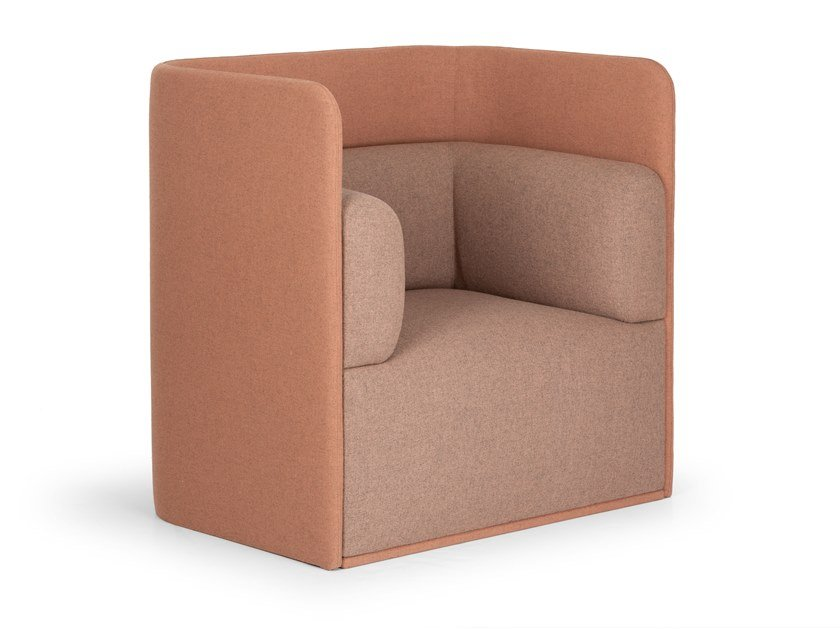 Armchair with armrests SHO | Armchair by True Design