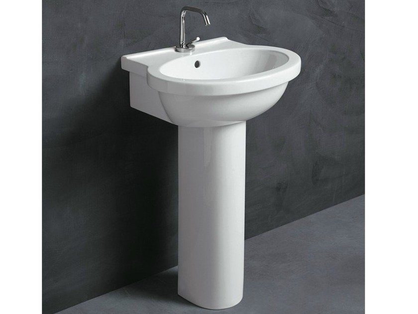 Ceramic washbasin SHORT 55 | Washbasin by Alice Ceramica