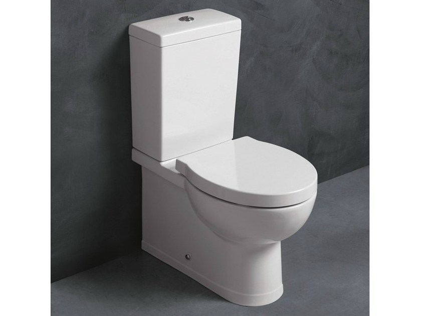 Close coupled ceramic toilet SHORT | Close coupled toilet by Alice Ceramica