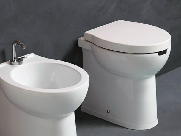 Ceramic toilet SHORT H50 OPEN | Toilet by Alice Ceramica