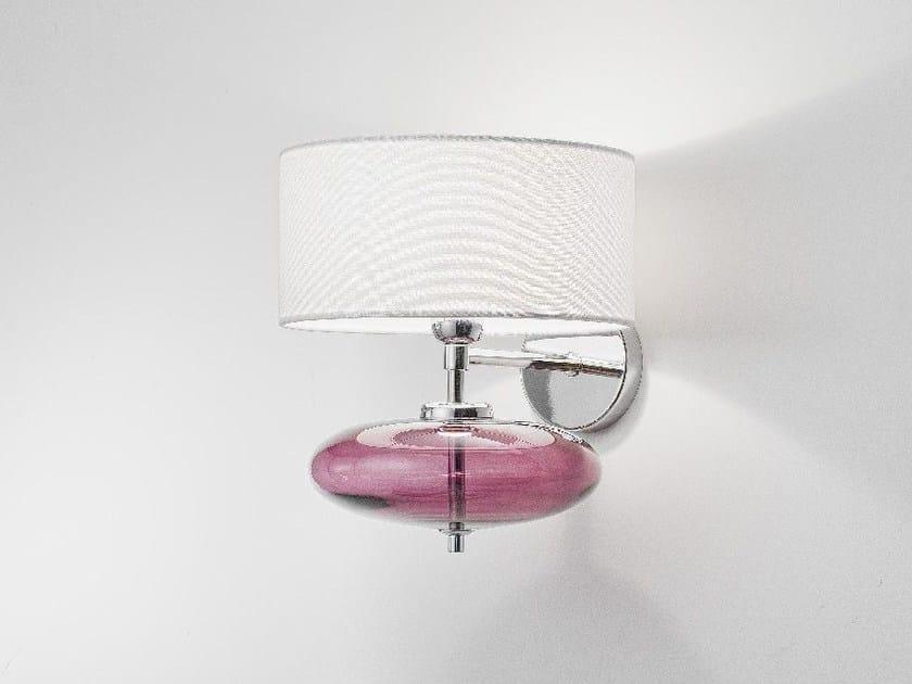 Blown glass wall lamp SHOW | Wall lamp by Zafferano