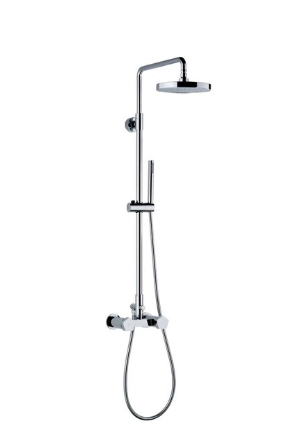 Shower panel with diverter with hand shower SHOWER COLUMNS   Shower panel with hand shower by newform