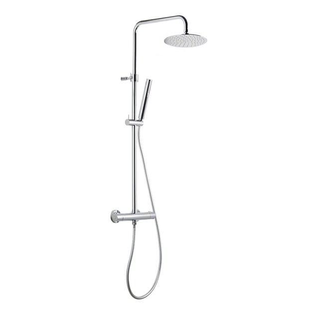 Thermostatic shower panel SHOWER COLUMNS | Thermostatic shower panel by newform