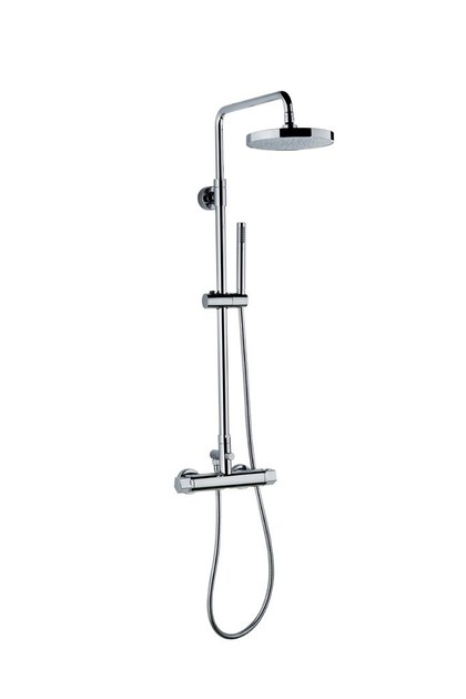 Thermostatic shower panel with diverter SHOWER COLUMNS | Thermostatic shower panel by newform