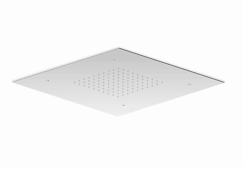 Extra flat stainless steel rain shower SHOWER PLUS | Overhead shower by ZUCCHETTI