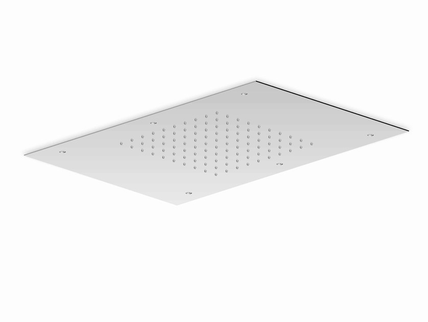 Ceiling mounted chrome-plated extra flat overhead shower SHOWER PLUS | Ceiling mounted overhead shower by ZUCCHETTI