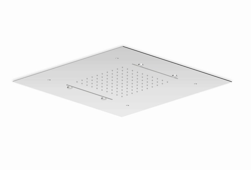 Ceiling mounted 3-spray overhead shower SHOWER PLUS | 3-spray overhead shower by ZUCCHETTI