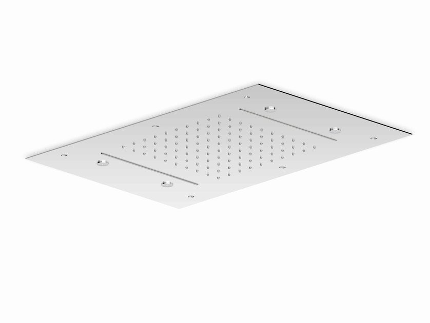 Contemporary style ceiling mounted chrome-plated overhead shower SHOWER PLUS | Contemporary style overhead shower by ZUCCHETTI
