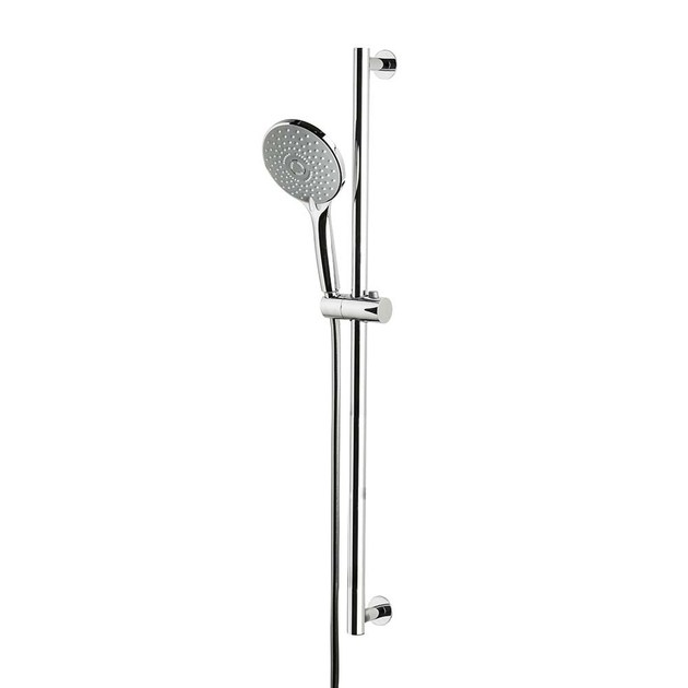 Asta saliscendi con doccetta con flessibile SHOWER SET | Asta saliscendi con doccetta by newform
