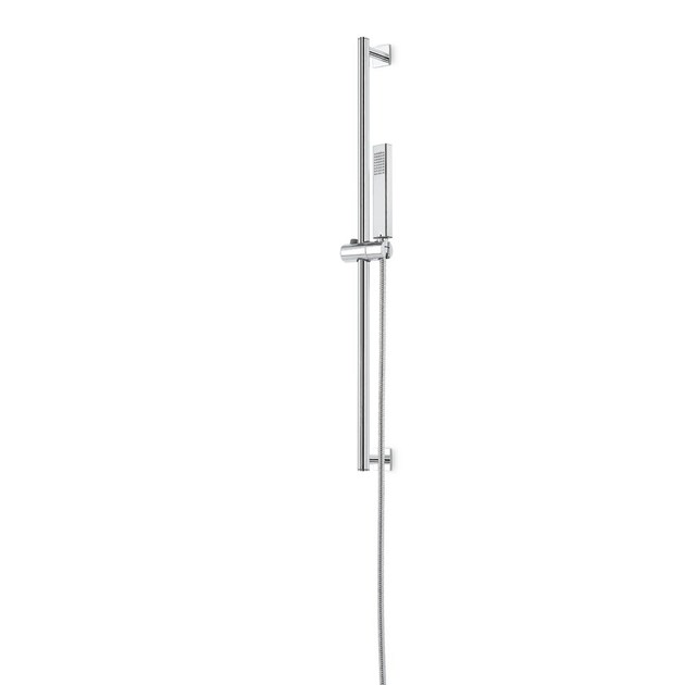 Shower wallbar with hand shower with hose SHOWER SET | Shower wallbar with hand shower by newform