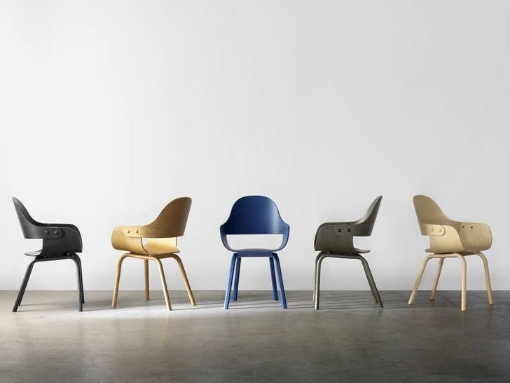 Beech chair SHOWTIME NUDE by BD Barcelona Design