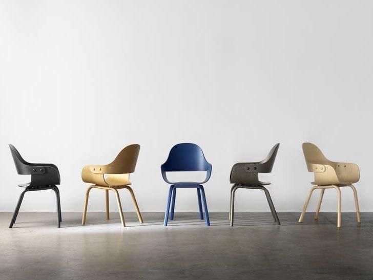 Bd Barcelona Design.Showtime Nude Chair Beech By Bd Barcelona Design