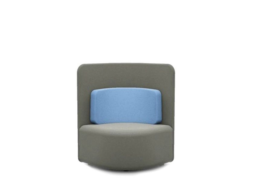 Upholstered guest chair SHUFFLE | Upholstered easy chair by Boss Design